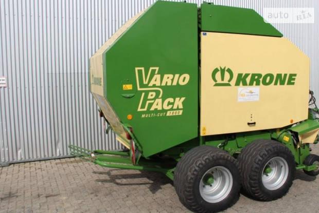Krone Vario Pack 1-е поколение Пресс-подборщики