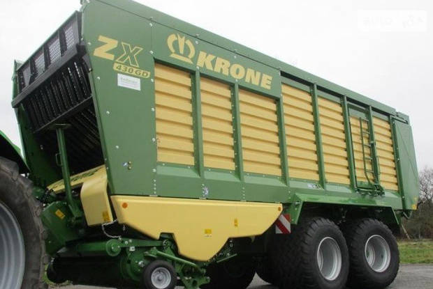 Krone ZX 1-е поколение Причеп