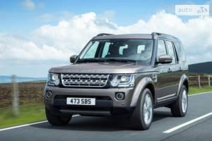 Land Rover discovery IV поколение (рестайлинг) Позашляховик
