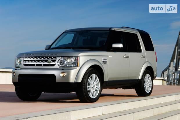 Land Rover Discovery IV поколение Внедорожник