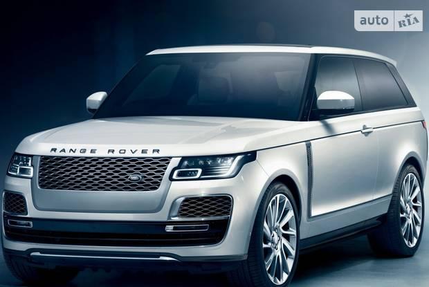 Land Rover Range Rover L405 (рестайлинг) Купе