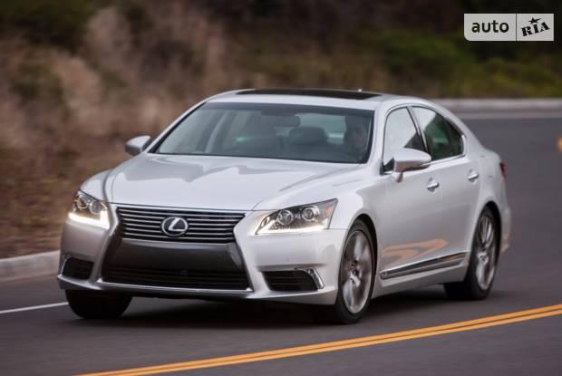 Lexus LS IV покоління (2 рестайлінг) Седан