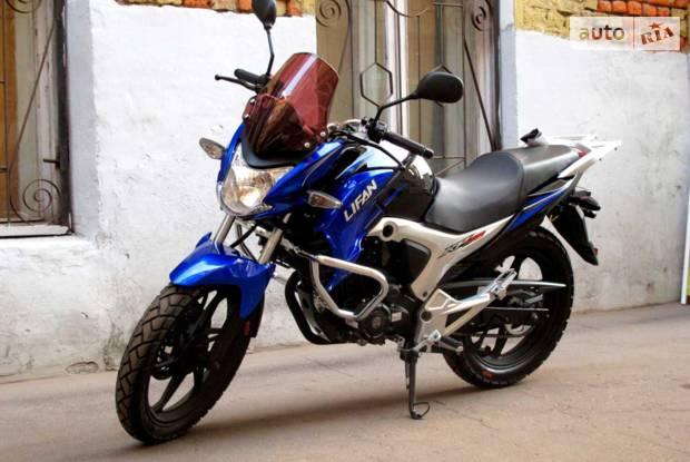Lifan Irokez 1 покоління Мотоцикл