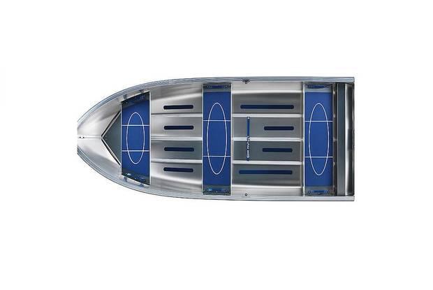 Linder 355 1-е поколение Лодка