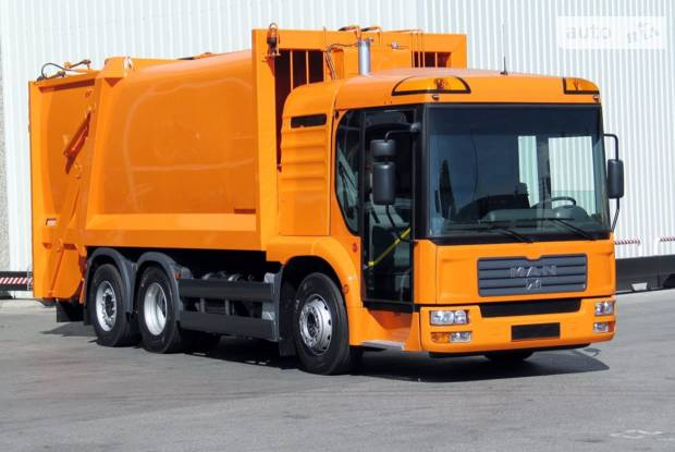 MAN TGA 1 поколение Машина мусоровоз