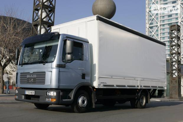 MAN TGL 1 поколение Фургон