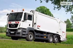 MAN tgs 1 поколение Машина мусоровоз