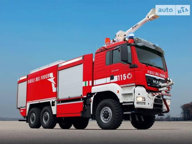 MAN TGS 1 поколение Пожарная машина