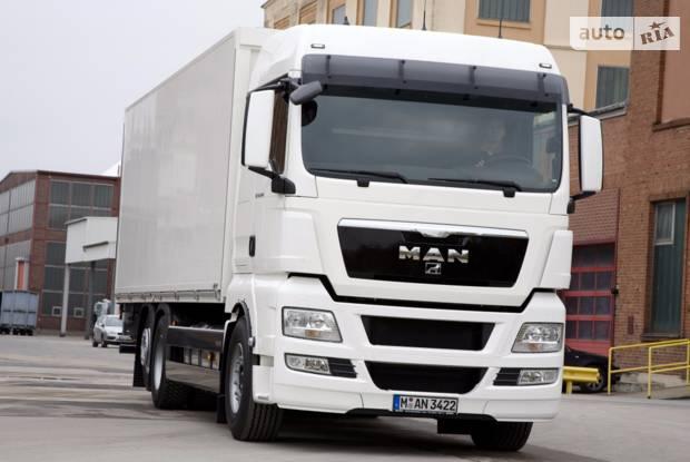 MAN TGX 1 поколение Фургон