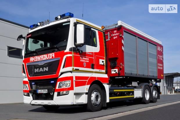 MAN TGX 1 поколение Пожарная машина