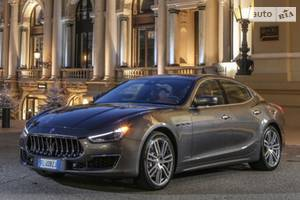 Maserati ghibli M157 (рестайлинг) Седан