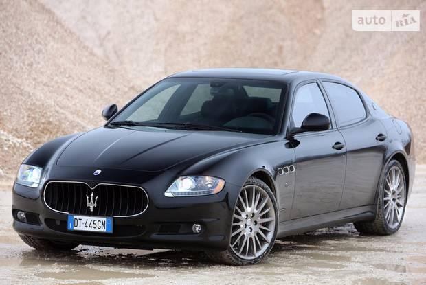 Maserati Quattroporte 5 поколение Седан