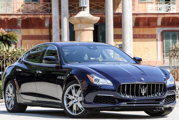 Maserati Quattroporte M156 (рестайлинг) Седан