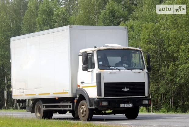 МАЗ 4370 1 покоління Фургон