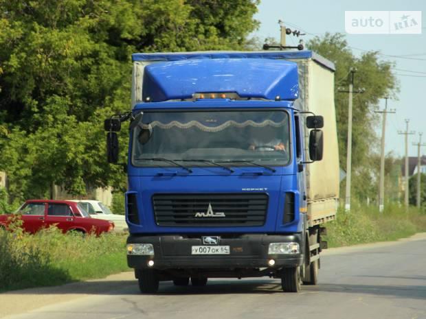 МАЗ 437130 2 покоління Борт