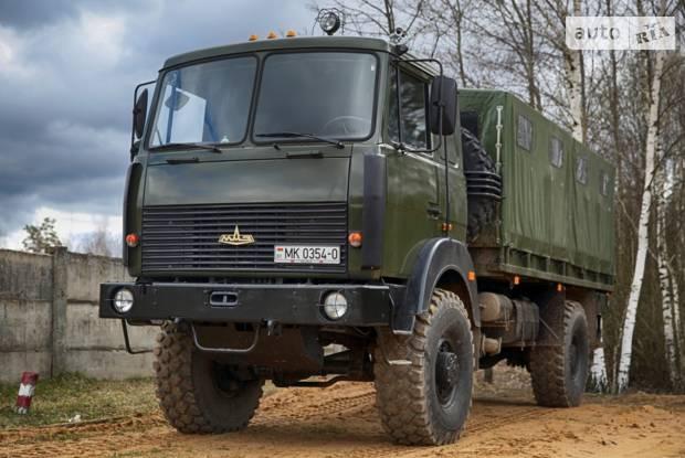 МАЗ 5316Х5 1 покоління (рестайлінг) Борт