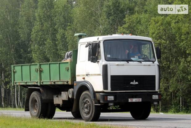 МАЗ 5336A3 1 покоління (рестайлінг) Борт