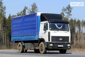 МАЗ 5336a5 1 покоління (рестайлінг) Борт