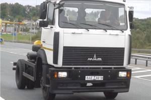 МАЗ 533702 1 покоління (рестайлінг) Вантажівка
