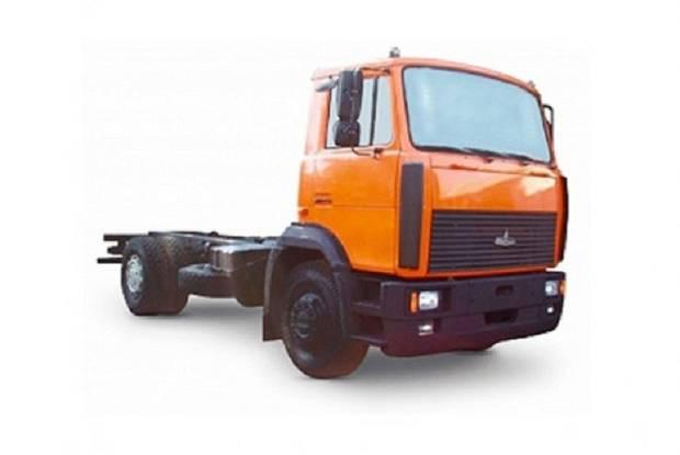 МАЗ 5337W3 1 покоління (рестайлінг) Шассі
