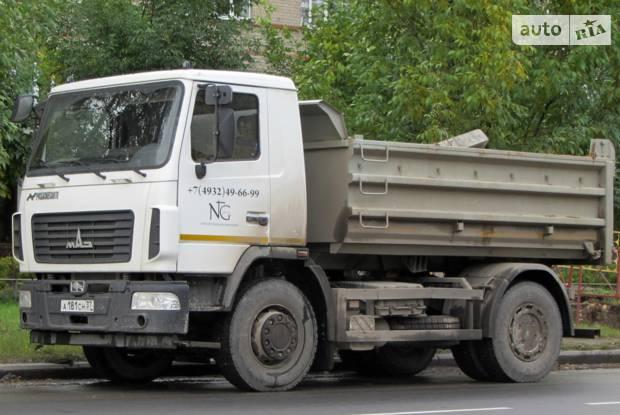 МАЗ 5550С5 1 покоління Самосвал