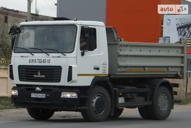 МАЗ 5550В5 1 покоління Самоскид
