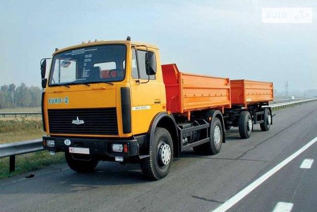 МАЗ 5551 2 покоління (рестайлінг) Самосвал