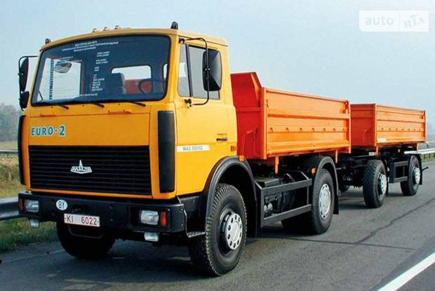 МАЗ 5551А2 1 покоління Самоскид