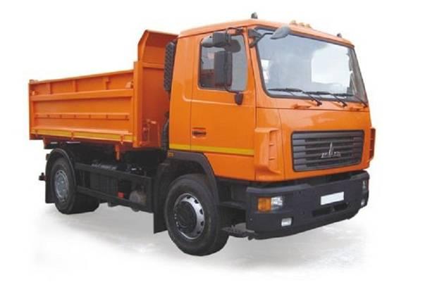 МАЗ 5551W3 1 покоління Самоскид