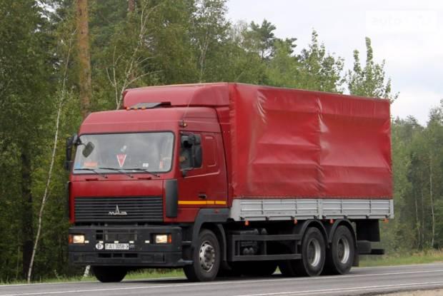 МАЗ 6312 1 покоління Грузовик