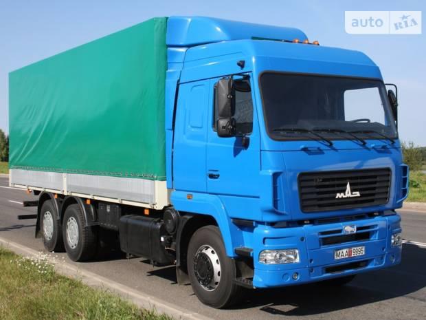 МАЗ 6312В9 1 покоління Борт