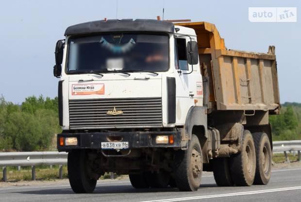 МАЗ 6517Х5 1 покоління Самоскид