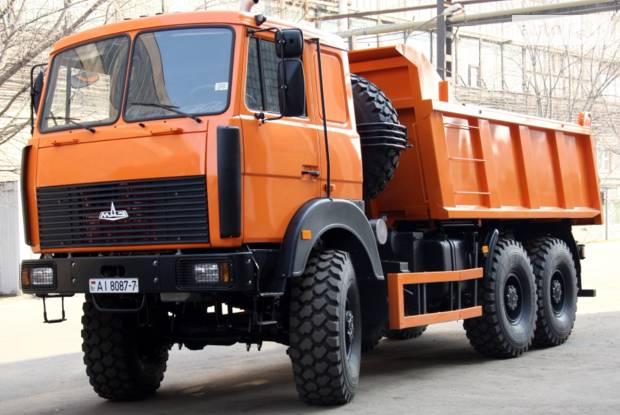 МАЗ 6517X9 1 покоління Самосвал