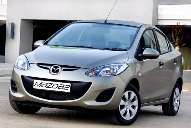 Mazda 2 2 покоління (рестайлінг) Седан