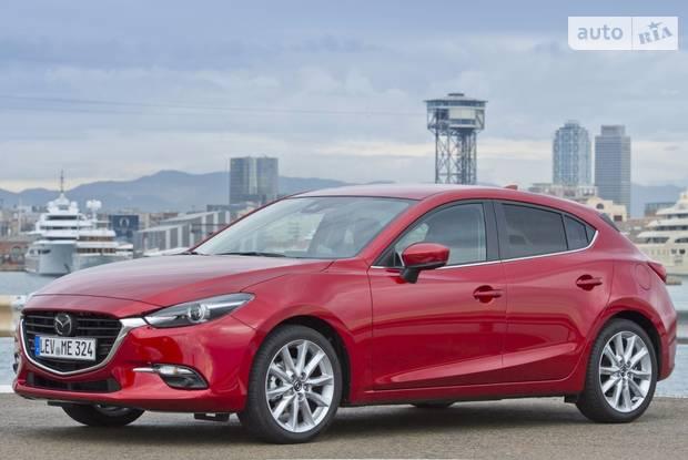 Mazda 3 BM (рестайлинг) Хетчбек
