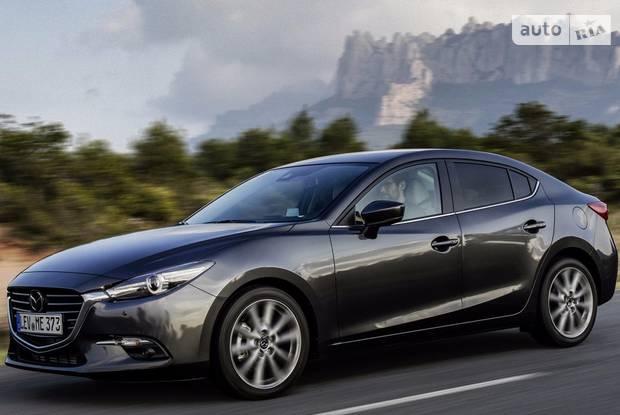 Mazda 3 BM (рестайлинг) Седан