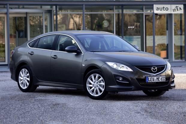 Mazda 6 GH (рестайлінг) Лифтбэк