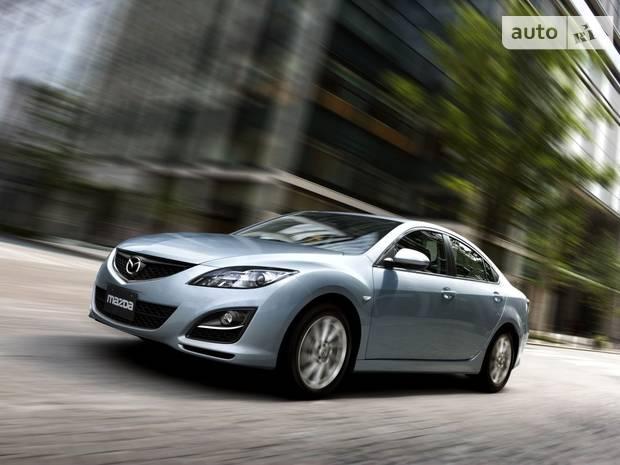 Mazda 6 GH (рестайлінг) Ліфтбек