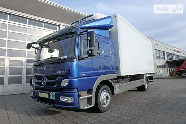 Mercedes-Benz Atego II поколение Вантажівка