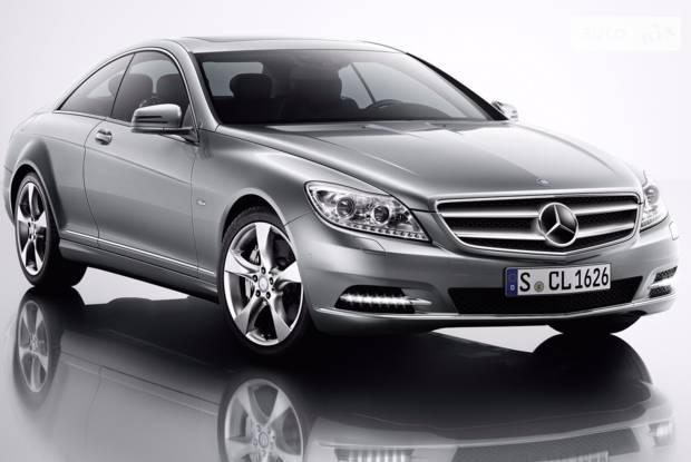 Mercedes-Benz CL-Class C216 (рестайлінг) Купе