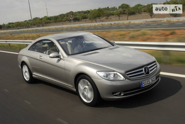 Mercedes-Benz CL-Class C216 Купе