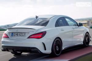 Mercedes-Benz cla-class C117 (рестайлінг) Седан