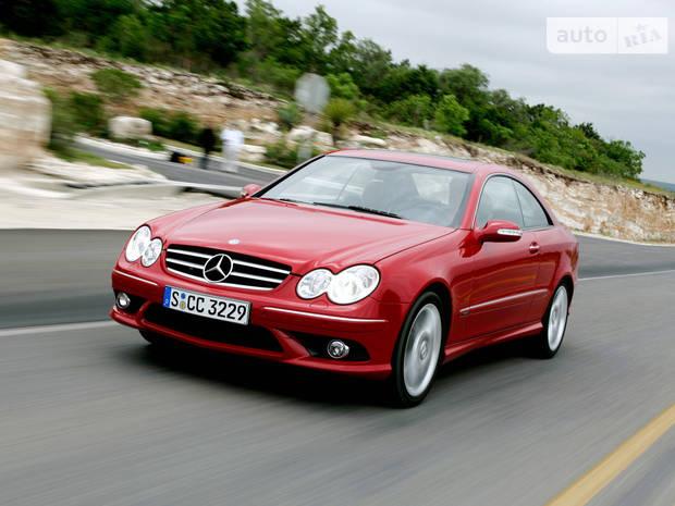 Mercedes-Benz CLK-Class C209 Купе