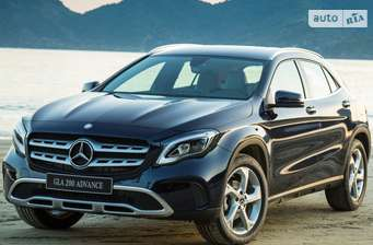 Mercedes-Benz GLA-Class GLA 180 MT (122 л.с.)  2018