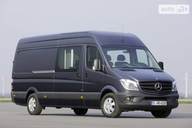 Mercedes-Benz Sprinter пасc. NCV3 IІ поколение (рестайлинг) Мікроавтобус