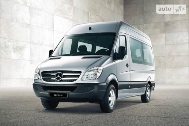 Mercedes-Benz Sprinter пасc. NCV3 IІ поколение Мікроавтобус