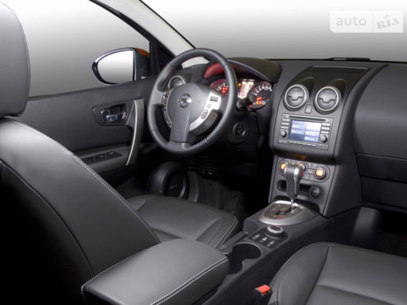 Nissan Qashqai 2.0 CVT (141 л.с.) 2008