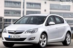 Opel astra-j J Хэтчбек
