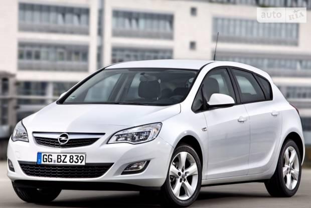 Opel Astra J J Хетчбек