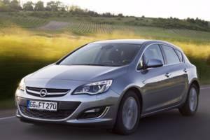 Opel astra-j J (рестайлінг) Хэтчбек